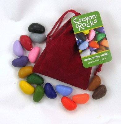 16 Rocks in a Red Velvet Bag